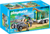 playmobil vehicle trailer animals transported around