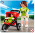 playmobil child wheel jogger stroller includes