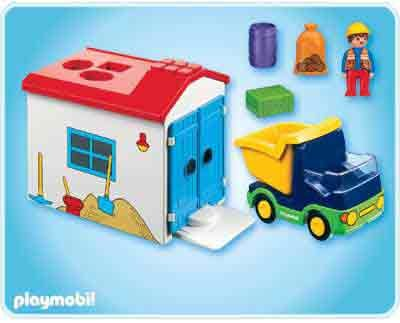 174 1 2 3 Truck With Garage Playmobil For Girls
