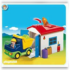 On Sale174 1 2 3 Truck With Garage
