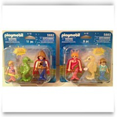 2 Pack 5882 And 5883 Ocean Mermaid Set