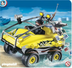 playmobil robber amphibious vehicle rollover cage