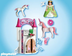 playmobil unicorn take along castle brand