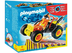 playmobil yellow racing racers pull-back-motor combined
