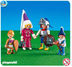 playmobil knight family heros mother sister