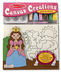 melissa doug canvas creations princess painting