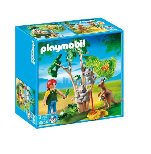 Playmobil Koala Bears With Kangaroo
