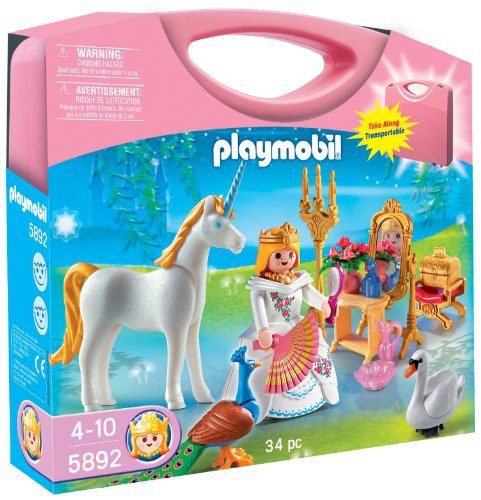 Princess Carrying Case Playset