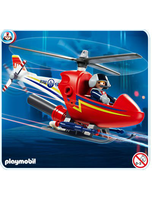 4824 Rescue Set Fire Fighting Helicopter