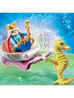 Ocean King With Seahorse Carriage