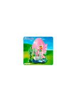 Pink Egg Fairy With Swan Pond